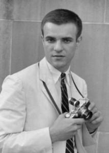 Manos with Leica Camera